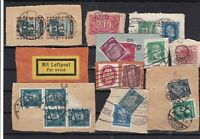 Germany early Stamps on piece Ref 14236