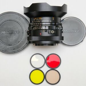 RARE! VERY GOOD!!! Mamiya Fisheye Sekor C 37mm f/4.5 Lens For RB67 - US SELLER!