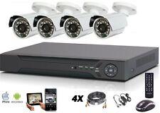 Kit vidéosurveillance AHD 4 caméras 2Mp 1080 + enregistreur 4voies