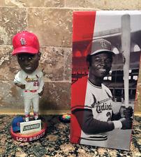 St. Louis Cardinals Lou Brock Bobblehead 7/31/15 NIB Cubs Trade Jab NIB SGA