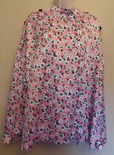 Marks & Spencer Collection UK22 EU50 US18 new pink satin floral blouse