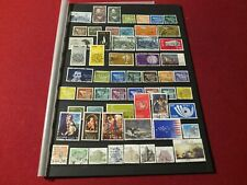 Lot of 58 Used Postage Stamps of Ireland