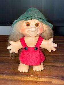 "Nice Vintage 6"" Troll Doll Thomas Dam German Woman"