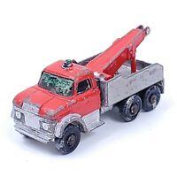 Vtg Lesney England Matchbox # 71 1968 Ford Heavy Wreck Truck Wrecker England