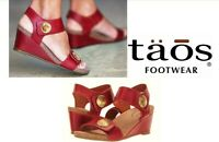 Taos Leather comfort Sandals on wedge Taos Shoes Spain