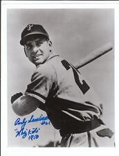 ANDY SEMINICK Autographed Signed 8 x 10 Photo Philadelphia Phillies COA