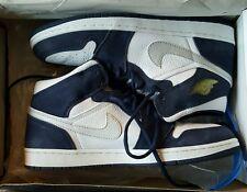 Nike Air Jordan 1 Retro + 2001 Navy Japan White Size 11.5