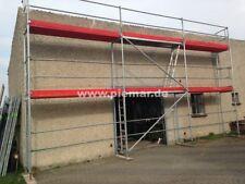 Gerüst Typ Plettac 24x6,5m mit Durchstieg Fassadengerüst Holzböden 3m NEU 156 qm