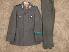 DDR NVA GDR East German Grenztruppen Border Guard Uniform