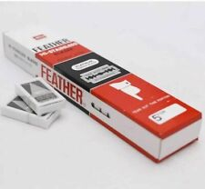 100 Feather Double Edge Razor Blades Made in Japan!!
