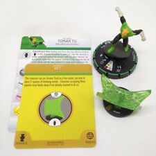 Heroclix War of Light set Tomar Tu (w/Net Construct) #013b Prime figure w/card!