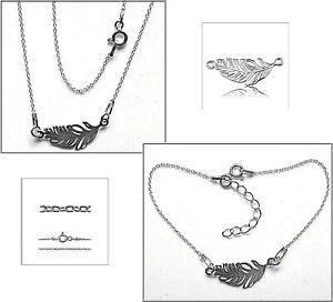 3 cm Echt 925er.Sterling Silber  TOP    BL422 Halskette /& Armband Set 45 und 17