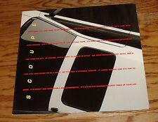 Original 1992 Hyundai Scoupe Deluxe Sales Brochure 92