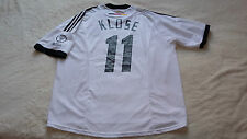 Alemania camiseta, jersey, maglia, maillot, klose, adidas, World Cup, WM 2002,xl