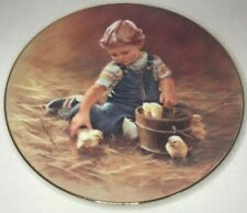"""Collector Plate """"Special Friends"""" - First Issue """"The Magic of Childhood"""" - 1984"""
