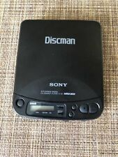 Vintage Sony Discman Model D-121 Compact Disk Player Portable Cd player Walkman