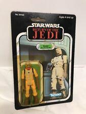Vintage Star Wars 1983 Return of the Jedi Bossk Bounty Hunter 77-Back