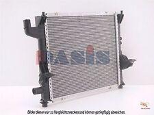 Enfriador de agua refrigeración del motor Radiador RENAULT TWINGO I (C06 _) 1.2