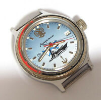 Wostok VOSTOK ADMIRALSKIE NAVY MILITARY SHIP Soviet Russian Wristwatch SERVICED