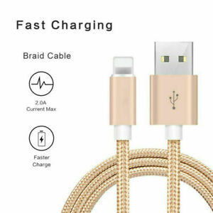 3M Long Charger Fast For Apple Phone Charger Cable USB Lead & Sync Charger Cable