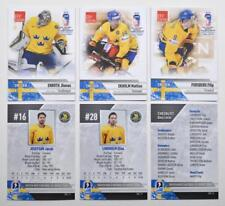 2015 BY cards IIHF World Championship Team Sweden Pick a Player Card