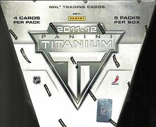 2011-12 Titanium Factory Sealed Hockey Hobby Box  Ryan Nugent-Hopkins RC?