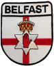 Belfast Irlanda Del Norte Bandera Escudo Parche Bordado Últimos
