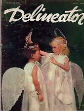 1935 Delineator December - Fred Astaire is cute; Christmas Meals;Dramatize flaws