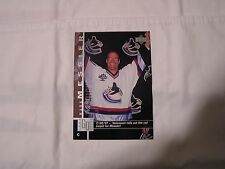 """Mark Messier 1997/98  Upper Deck Collector's Choice BLOW UP  NO. 1 of 5  5"""" X 7"""""""