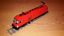 Bauanleitung/Building Instruction E-Lok aus Lego® Steinen - Eisenbahn Moc