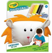 Art Gifts For Kids Fun Project Crayola Doodlemals Scribbles The Lion Washable
