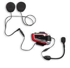 DUCATI Cardo V2 Helm Sprechanlage Bluetooth Communication System Packtalk NEU