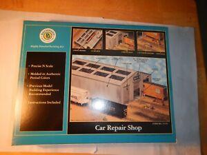 Bachmann Car Repair Shop Kit, Item No. 15159, n-scale