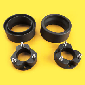 2 Rear Lift Spring Spacers with Differential Drop kit LIZARD GO Suspension Lift kits for 2003~2019 4Runner 4WD and 2007~2015 Fj Crusier 4WD 3 Front Lift Strut Spacers