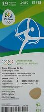 TICKET 19.8.2016 Olympia Rio Finale Rhythmische Sportgymnastik # E37
