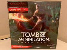 Dungeons & Dragons Tomb of Annihilation Board Game (WizKids) NEW SEALED OOP RARE