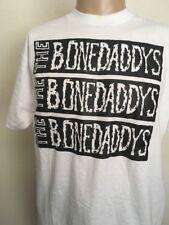 VTG 80s ~ SCREEN STARS THE BONEDADDYS CONCERT TEE ~ White XK Worldbeat Raggae