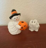 Treasure Masters Halloween Ghost With Pumpkin Plus Small Ghost