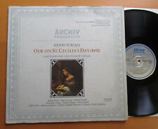 ARCHIV 2533 042 Purcell Ode On St Cecilia's Day Charles Mackerras NM/EX Stereo