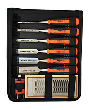 Bacho Chisel Set 6 Piece 424P Woodworking Wood Kit Bahco