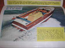 CHRIS CRAFT CUSTOM SKI BOAT SU 200 ALL'ORA 1963