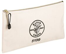 Klein Tools 5139 Canvas Zipper Bag
