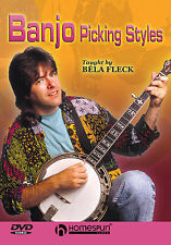 Learn To Play Banjo Picking Styles Bela Fleck DVD Tutor LESSON BLUEGRASS CHORDS