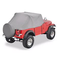 1976-1986 Jeep CJ7 Top Off Custom Fit Insulated Trail Cab Cabin Cover in Gray