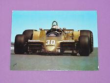 CARTE POSTALE CPA JOCHEN MASS ARROWS PILOTE F1 AUTO 1979 GRAND PRIX DIJON
