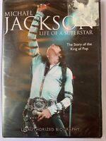 Michael Jackson Life Of A Superstar Unauthorized Biography - New DVD - Free Ship