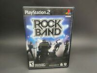 Rock Band (Sony PlayStation 2, 2007) PS2 Complete AC