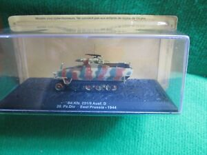SD.KFZ.251/9 EAST PRUSSIA 1944 (1:72 SCALE) COMBAT TANK COLLECTION LOT P59