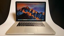 "Apple Macbook Pro Laptop 15.4"" Quad-Core i7 2.2- 3.3 Ghz - 16GB RAM - Dual Drive"