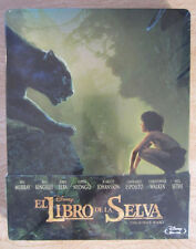 The Jungle Book 2016 Disney Blu-Ray Steelbook Region Free Sealed Mowgli Animal